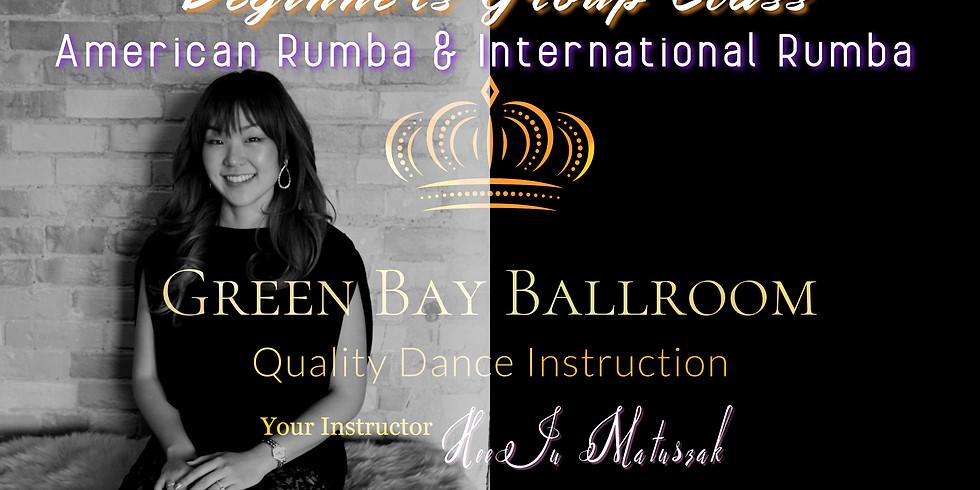Beginners Group Class - American Rumba & International Rumba