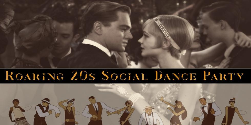 Roaring 20s Social Dance Party