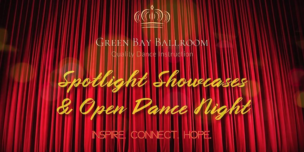 Spotlight Showcases and Open Dance
