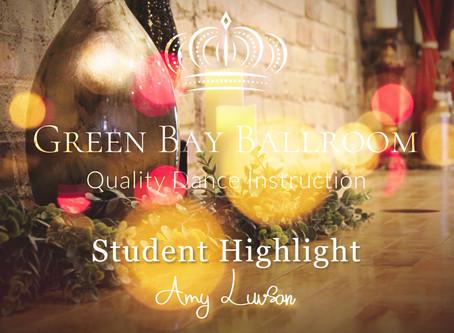 January Student Highlight: Amy Luvsan