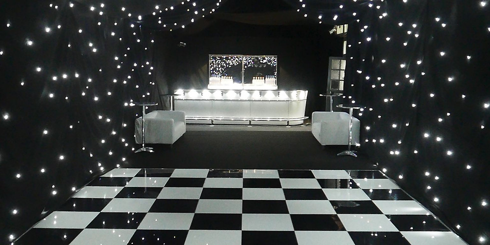 Black & White Social Dance Party