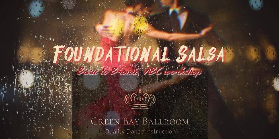 Foundational Salsa - Beginning to Bronze / ABC Workshop