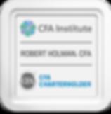 CFA charter award