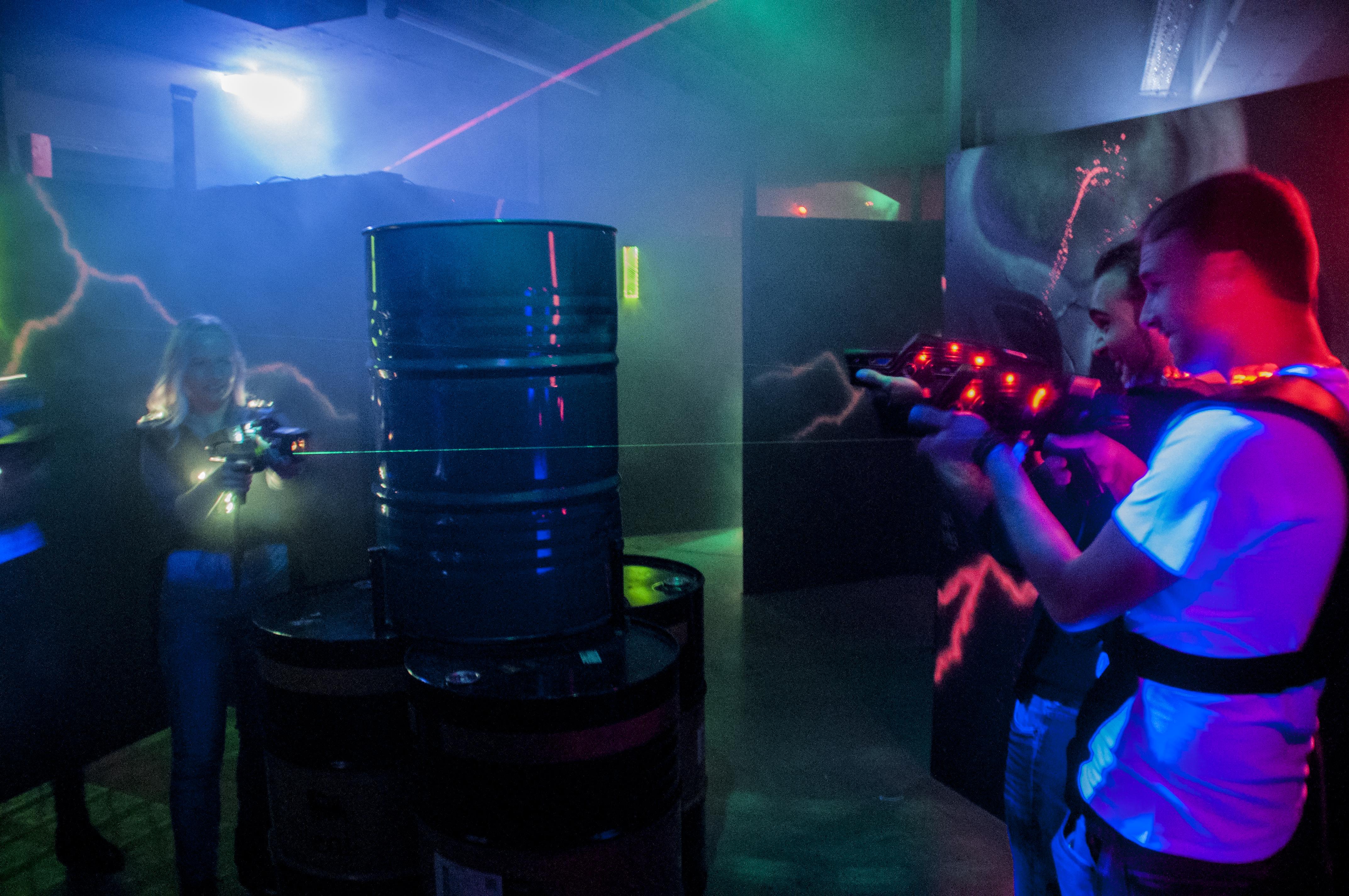 Lasertag 2.0 –über 20 Spielmodi