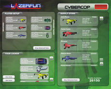 Lazerfun Interface: Cybercop