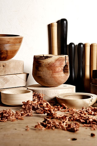 Woodworking. Bowl Turning
