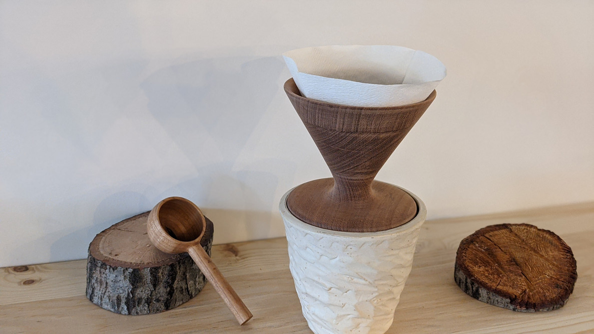 Wooden pour over