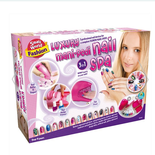 Luxury Mani-Pedi Nail Spa