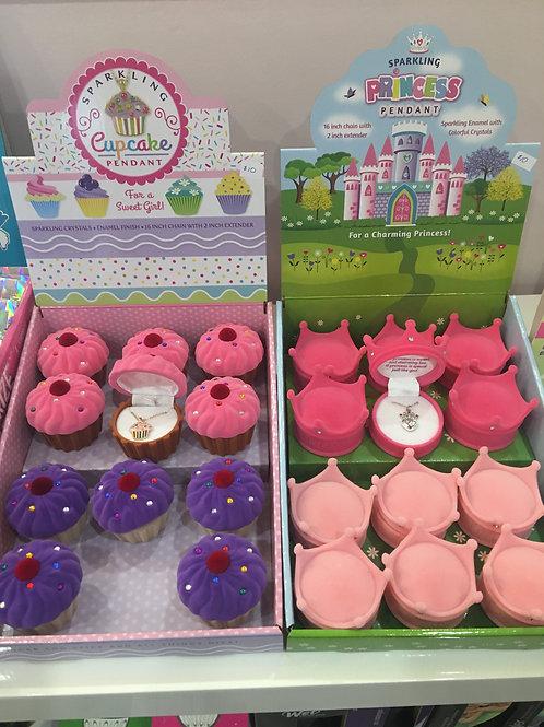 Cupcake/Princess Pendant