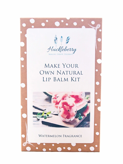 Huckleberry Make Your Own Lip Balm Kit