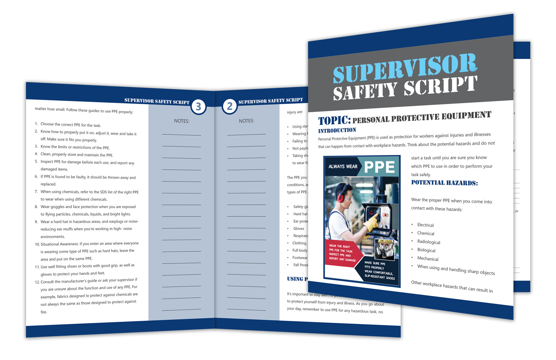 SUPERVISOR SAFETY SCRIPT