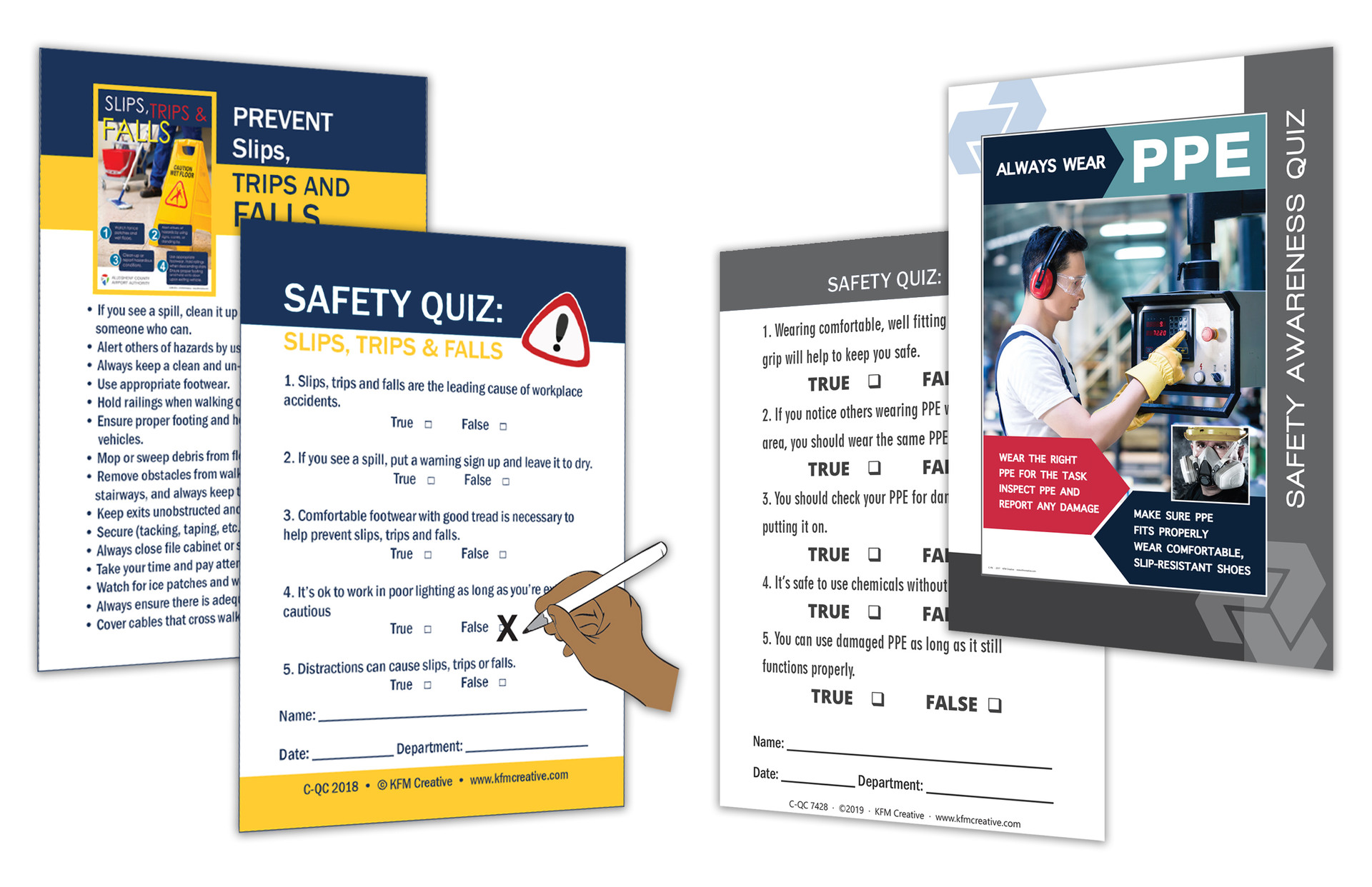 SAEFTY QUIZ CARD