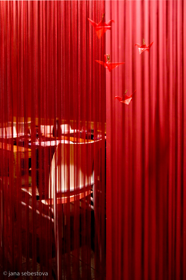 Geisha room.