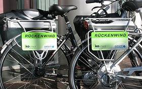 Bild: Rückenwind-Pedelecs. Urheber: Ökostadt Rhein-Neckar e.V.