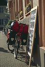 Bild: Radreise. Urheber: Jens Hasler / pixelio.de