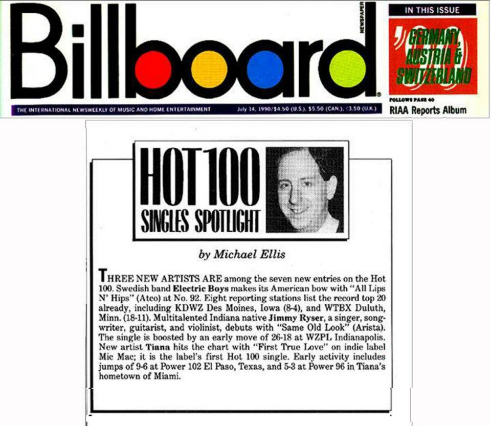 Billboard Hot 100 Tiana