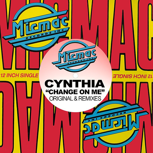CYNTHIA Change On Me CD Shipping Included