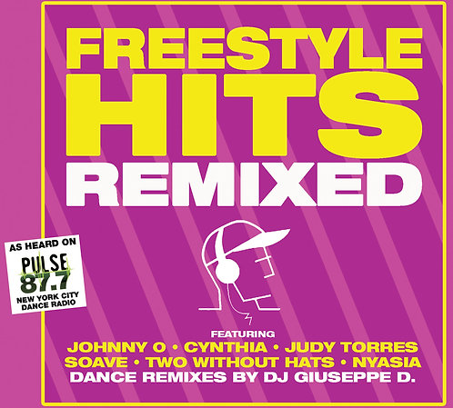 FREESTYLE HITS REMIXED CD Shipping Included