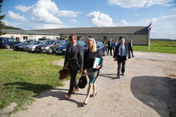 EIB visit Liva AB Nord