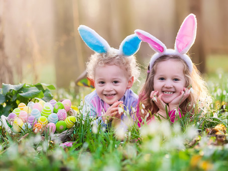 Hop into healthy habits over Easter