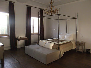 Bed in kamer Luik.