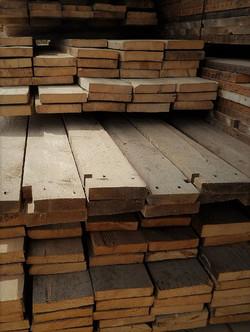 Reclaimed rustic barn wood planks