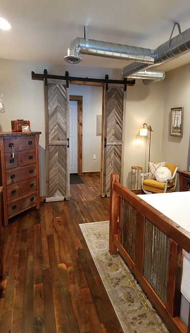 The BarnWood Company showroom