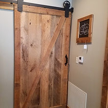 Custom reclaimed barn doors