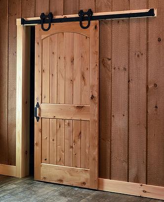 siding barn door hardware