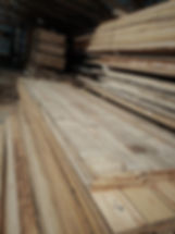 Reclaimed resawn lumber