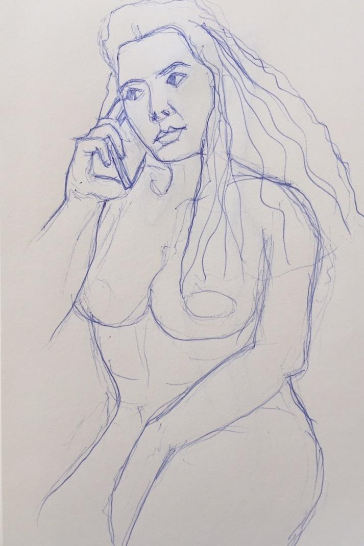 Girl on the Phone, Study II