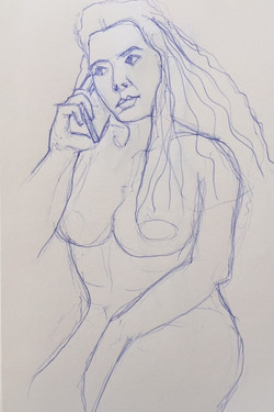 Girl on the Phone, Study II
