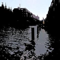 Alster Canels, Jungfernstieg Abstract, IMG 6766