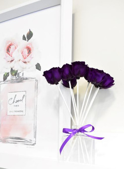 Apothecary Purple Decorative Rose Reed D