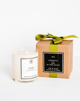 92101 Gardenia Lily of the Valley Candle