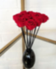 Crimson Red Rose Flower Reed Diffuser.jp