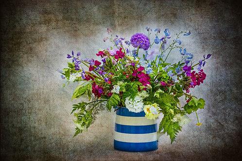 May Flowers in Cornish Jug