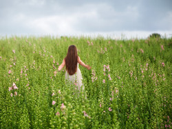 Ellie in a Shropshire Field