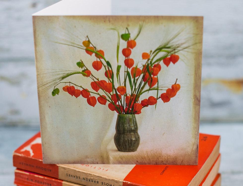 Vase of Autumn Colours