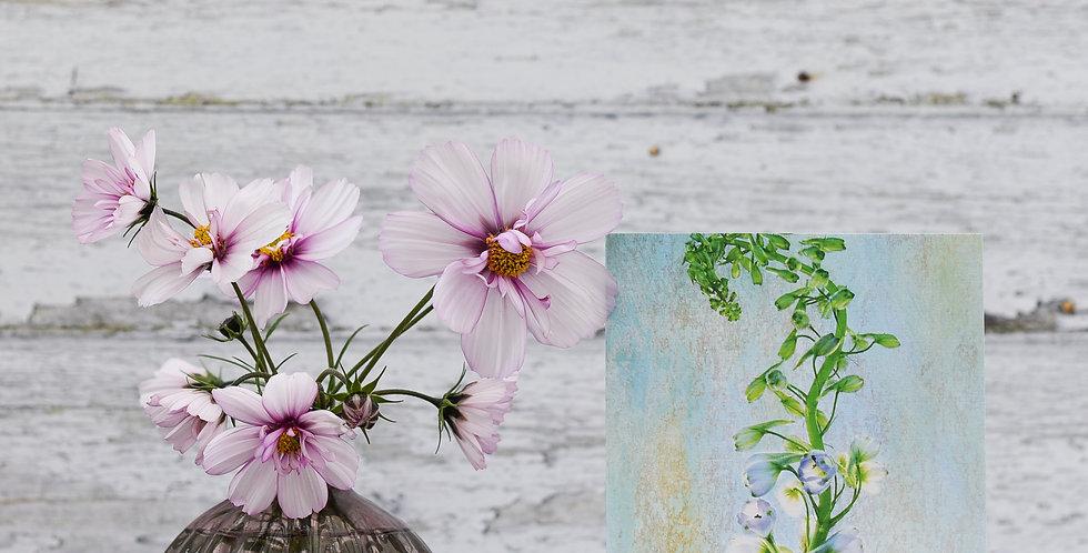 Botanical Delphinium