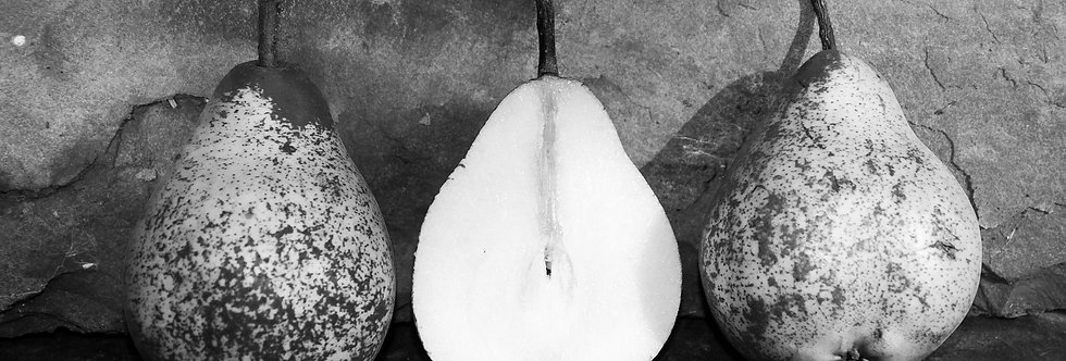 Black and White Pears