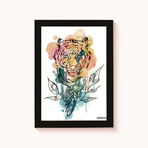 O Tigre e o Pássaro