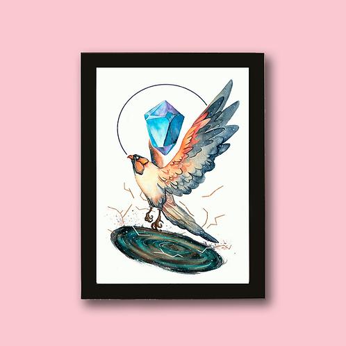 BIRD - Criaturas Mágicas e Cristais - MUNDO OCULTO
