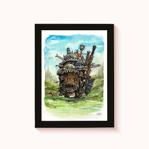 FANART - Howl's Moving Castle