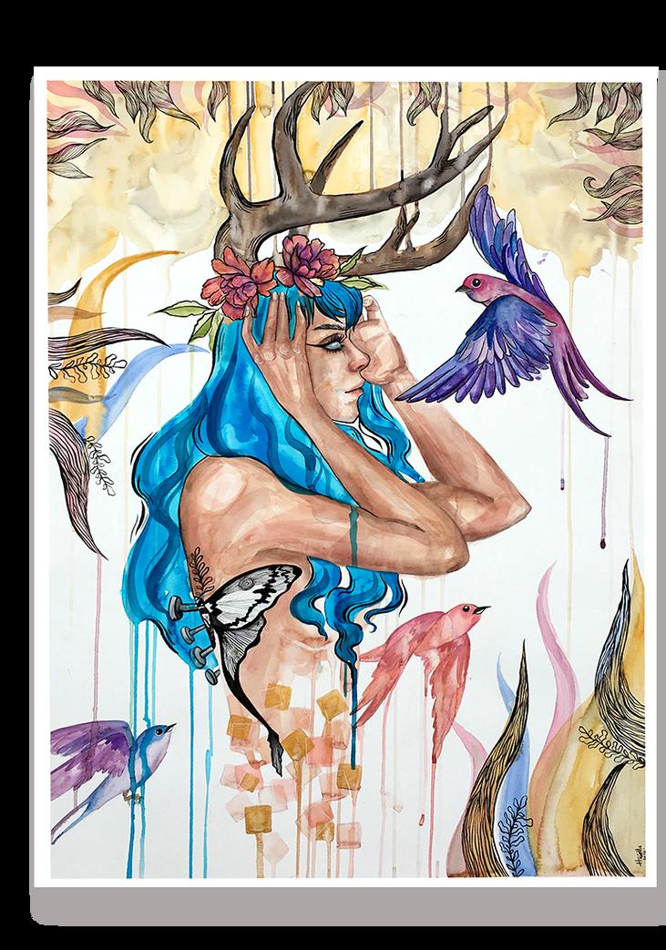 Metamorfose - Por Huíolla Ribeiro