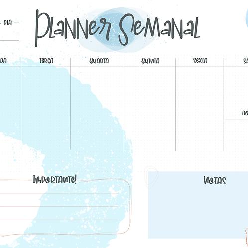 Planner Semanal - Splash!
