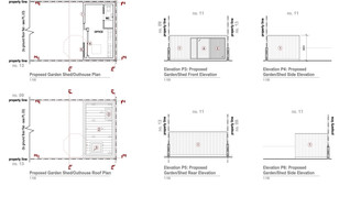 Garden room planning approval