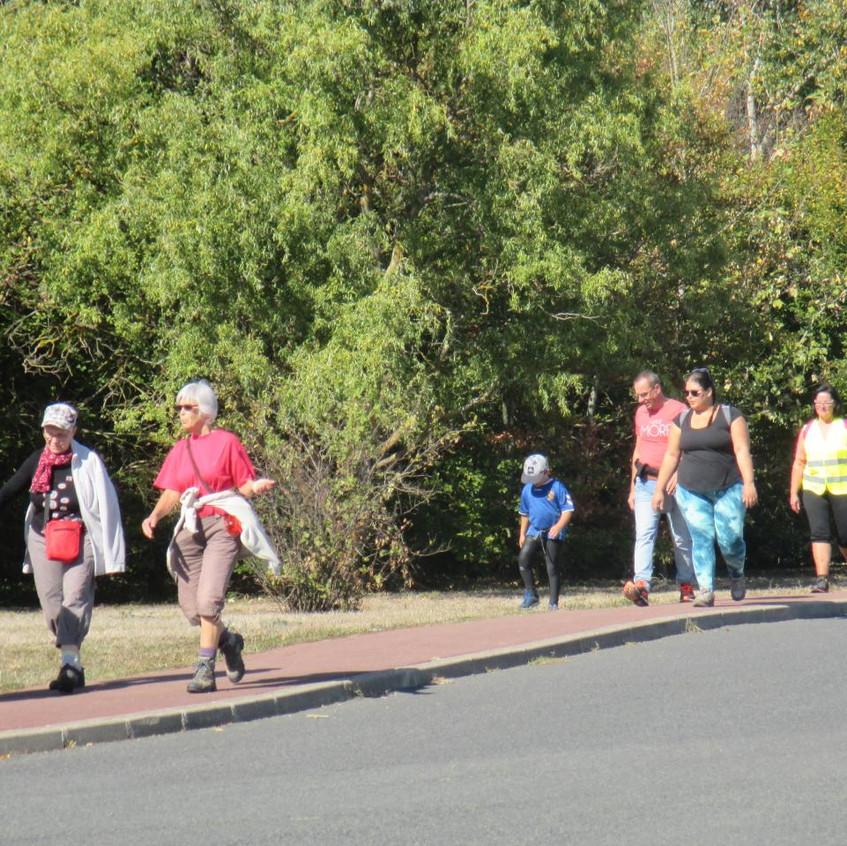 Le serre-file du 6 km familles
