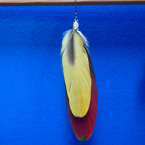 Parrot Feather Earring (SINGLE)