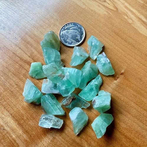 Green Calcite tiny 55 grams